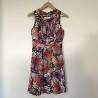 Alannah Hill Womens Dress, Size 8, Silk Floral Spring