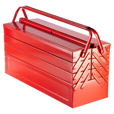 Extra Large Metal Storage Cantilever Tool box Organiser 4 Tier 7 Tray 530mm Tool