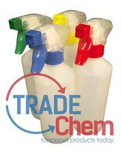 4 x botellas de aerosol gatillo Mezclados 500 ml, Resistente A La Limpieza Valeting, Casa