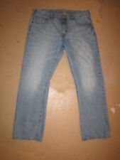 MENS JEANS TAG SIZE 38X32 AMERICAN EAGLE ORIGINAL STRAIGHT LEG ACTUAL 41X30 1/2