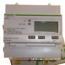 Schneider iEM3210 3 Phase kWh Energy Meter 5A Watt-Hour DIN Rail mount A9MEM3210