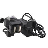 Enchufe del cargador del manillar de la motocicleta dual del USB 12V w/swi*ws