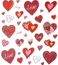 Love Heart Scrapbook Stickers