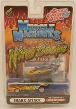 Muscle Machines 1991 Chevrolet Corvette SHARK ATTACK Chevy Door-Slammer Drag Car