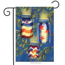 "Patriotic Luminaries Summer Garden Flag Fourth of July Lanterns 12.5"" x 18"""