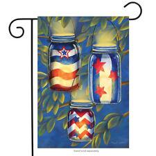 """Patriotic Luminaries Summer Garden Flag Fourth of July Lanterns 12.5"""" x 18"""""""