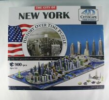 NEW SEALED New York History Over Time 4d Cityscape Time Puzzle - 900 Piece