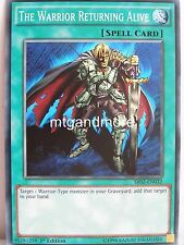 Yu-Gi-Oh - 3x The Warrior Returning Alive - SR02 - Structure Deck Rise of the