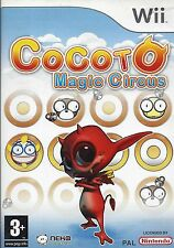 COCOTO MAGIC CIRCUS for Nintendo Wii - with box & manual