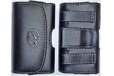 Samsung Gusto 2 Flip Phone Universal Holster/ Case / Pouch with Belt Loop & Clip