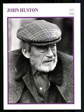 Star Portrait carta-John Huston + G 8018