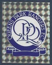 MERLIN-1994-PREMIER LEAGUE 94- #335-QUEENS PARK RANGERS TEAM BADGE-SILVER FOIL