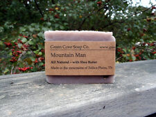 Mountain Man  Natural Lye Soap - Green Cove Soap - Fresh smell of juniper cedar