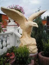 Gartenfiguren, Steinfigur, grosser Adler XXL, Steinguss, Tierfiguren, Gartendeko