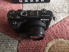 Nikon COOLPIX P7700 12.2MP Digital Camera - Black Complete as purchased
