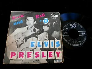 """ELVIS PRESLEY/ROCK AND ROLL N°1/RCA 75319/FRENCH EP 7"""""""