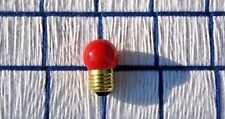 rudolph the reindeer nose frostie santa frosty FIRE ENGINE RED LIGHT BULB 7w S11