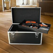 Aluminum Hard Toolboxes Box Case Tools Professional Aluminum With Lock Key Strap