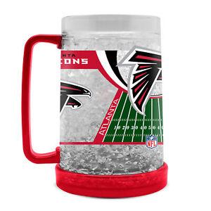 Atlanta Falcons Calcio Crystal Freezer Birra Kühlglas 0,4 Lt.