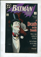 BATMAN #429 (9.0) A DEATH IN THE FAMILY! KEY!