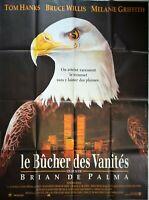 Plakat Kino Le Bucher Des Eitelkeiten Brian De Palma Bruce Willis - 120 X 160 CM