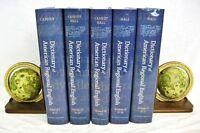 Dictionary of American Regional English 5 Volumes 1991-2012 Cassidy Hall Harvard
