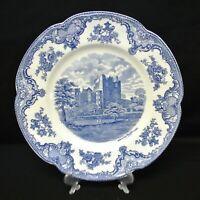 "Johnson Bros England Old Britain Castles 10"" Dinner Plate Blarney Castle 1792"
