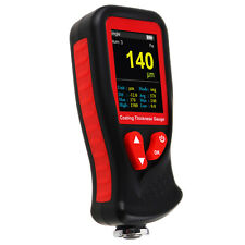 Professional Thickness Meter Gauge Hd Colored Display Car Paint Coating Tester