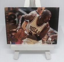 95-96 MICHAEL JORDAN Fleer TOTAL D Gold Foil Insert #3 - Chicago Bulls