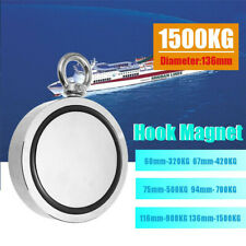 160-1500KG Double Sided Neodymium Strong Metal Salvage Fishing Recovery Magnet