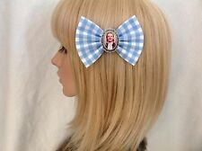 Dorothy hair bow clip rockabilly disney pinup girl pin up wizard of oz vintage