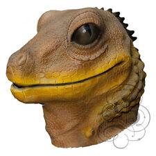 LATEX protection complète reptile marron lézard haute qualité déguisement