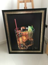 """Michael Godard """"Just Chillin'"""" Limited edition framed print with CERTIFICATE"""