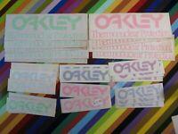 vtg 1980s Oakley surf street skate BMX sticker - Thermonuclear Protection