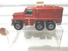 Lesney Matchbox MB16 Bronze Badger Truck Lite Grey 3 Line Base Cream Antennae Nu