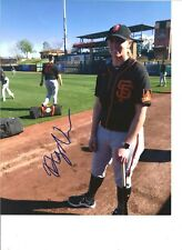 Alyssa Nakken SF Giants autographed 8x10 photo 1st female coach in MLB-w/COA