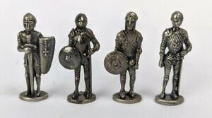 Vintage Kinder Surprise Medieval Knights Die Cast Iron Miniature Figurine Lot