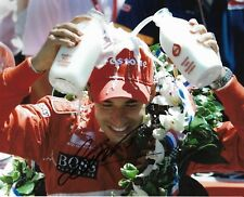 HELIO CASTRONEVES SIGNED 8X10 PHOTO INDY 500 WINNER INDIANAPOLIS 2000 01 09