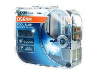 Osram D3S 66340 Cbi Cool Blue Intense Xenarc with 6000 Kelvin Duobox (2 Piece)