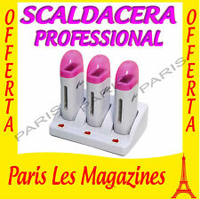 SCALDACERA PROFESSIONALE A 3 MANIPOLI,ACCENSIONE INDIVIDUALE TOP QUALITY