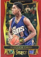 2016-17 PANINI SELECT RED PRIZM ROOKIE RC MARQUESE CHRISS NO. 96 SUNS #83/175