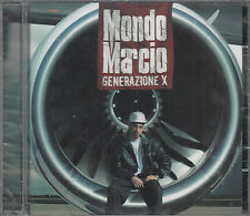 MONDO MARCIO - GENERAZIONE X - CD NEW SEALED + BONUS TRACKS - EMI 5099950145607