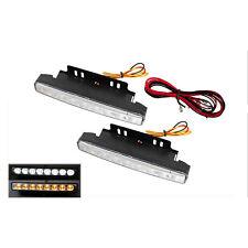 FEUX JOUR CHRYSLER SEBRING STRATUS 300C 2x 8 LED CLIGNOTANTS INTEGRES