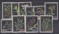 Venezuela 1962 Orchids Set To 2.0 Mint SG1721/30 X9790