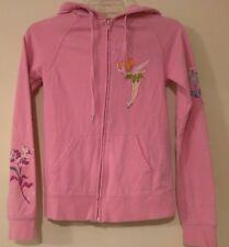 DISNEYLAND WALT DISNEY WORLD - Pink Tinkerbell Hoodie - Junior's Size: XS