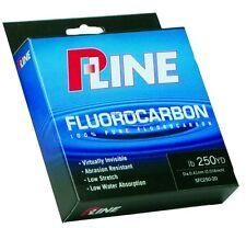 PLine Fluorocarbon / 250yds / 17lb / Clear / Lot of 3 Packs