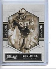 2010 BARRY SANDERS CLASSICS LEGEND #202 27/999 LIONS