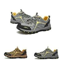 Mens Pumps Hiking Leisure Sneakers Outdoor Lace Up Climbing Comfort Shoes Summer