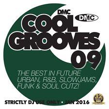 DMC Cool Grooves Issue 9 Future Urban, R&B, Slowjams, & Soul Cutz DJ CD