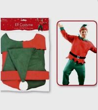 Classic Men's Elf Costume One Size Male Christmas Fancy Dress Xmas Accessory